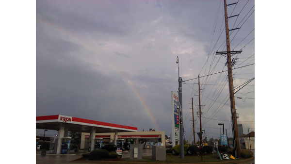 "<div class=""meta ""><span class=""caption-text "">A rainbow is shown in Elsmere, Delaware following the storm on August 9, 2011.</span></div>"