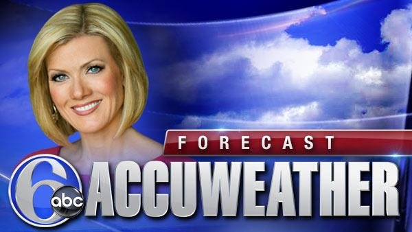 Cecily Tynan and Accuweather