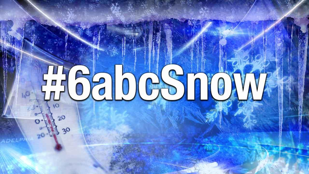#6abcSnow: Real-time updates on the storm