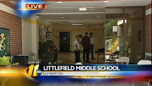 Littlefield Middle School Car Crash
