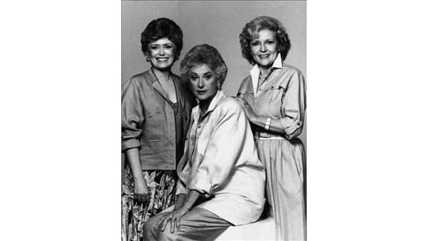 Rue McClanahan, Bea Arthur and Betty White