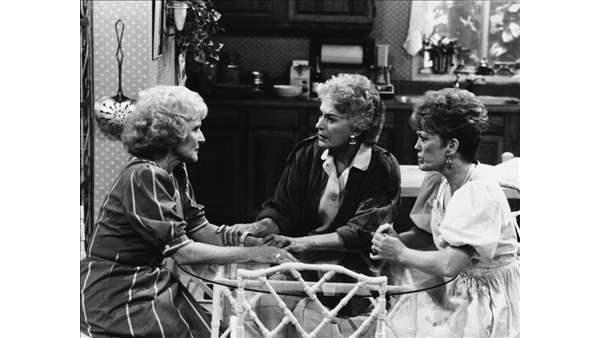 Set of 'The Golden Girls