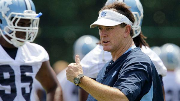 UNC head coach speaks following associate's resignation