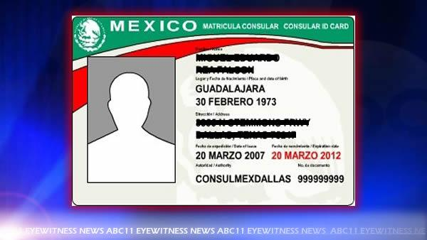 Plan to accept Mexican ID draws fire