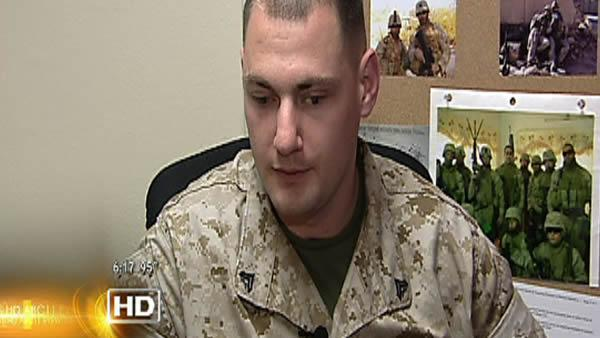 Armed forces Salute: Matthew Bradford