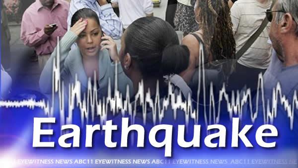 Small earthquake shakes Triangle