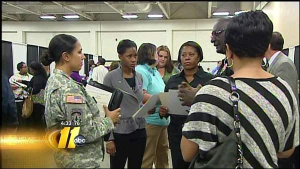 Thousands attend Fayetteville job fair