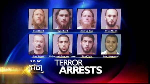 Jury convicts NC men accused of terror plot