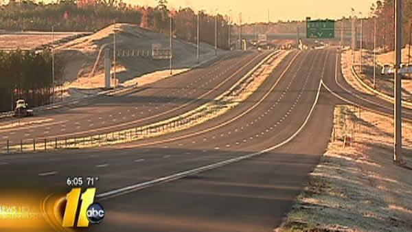 Tolls take effect Tuesday on Triangle Expressway