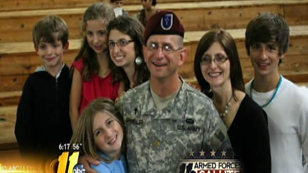 Armed Forces Salute: The Spangler Family