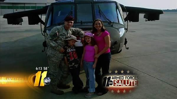 Armed Forces Salute: The Stevenson Family