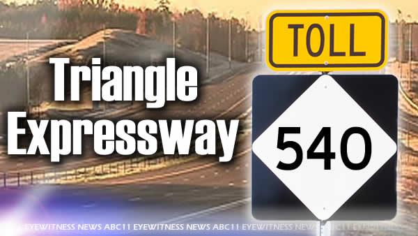 Tolls to increase on parts of Triangle Expressway