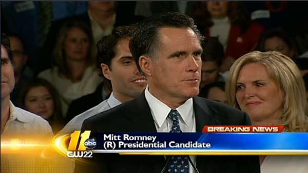 Romney wins in NH, Paul places second