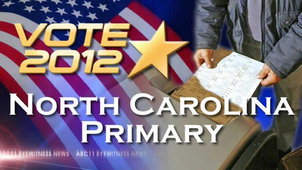 No delay for North Carolina primary