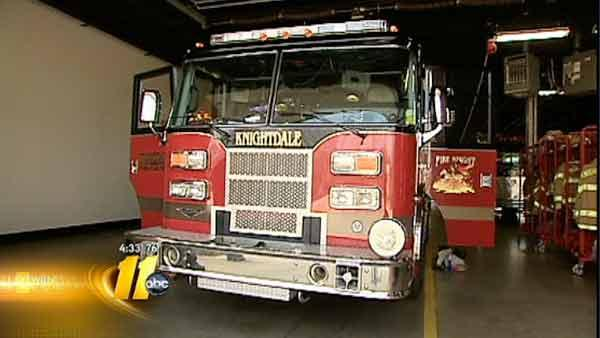 Three volunteer firefighters dismissed in Knightdale
