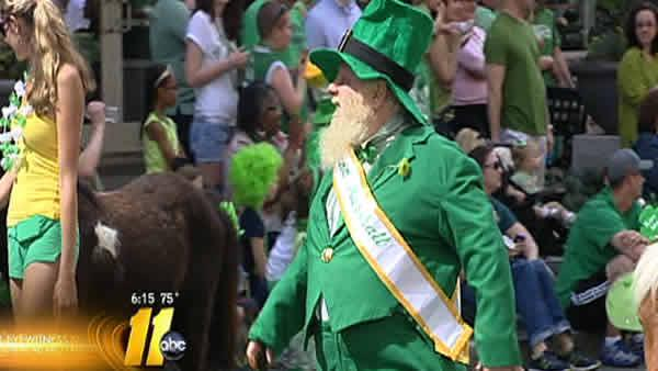 Crowds line streets for St. Patrick's Day parade
