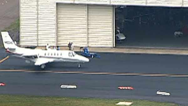 Gov. Perdue's plane makes emergency landing