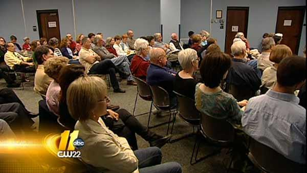 Catholic Church holds forum on Amendment One