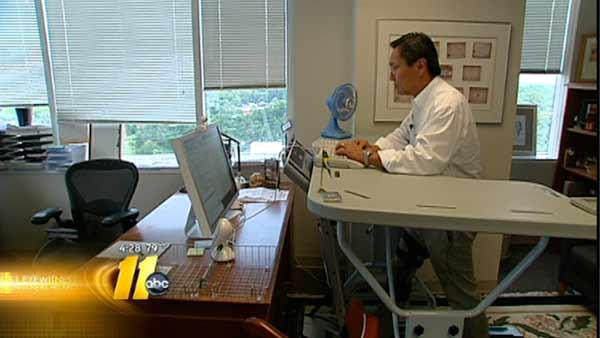 'TrekDesk' increases energy, productivity at work