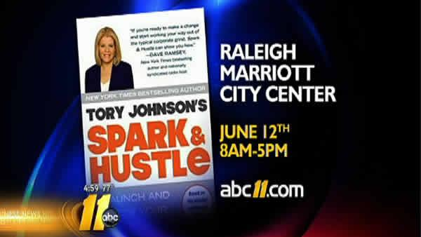 Spark & Hustle tour to make stop in Raleigh