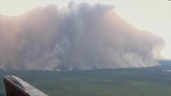 NC forest fire more than doubles in size