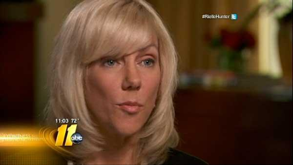 Excerpts from Rielle Hunter book revealed