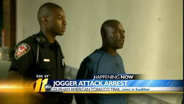 Police: Man assaulted Tobacco Trail jogger