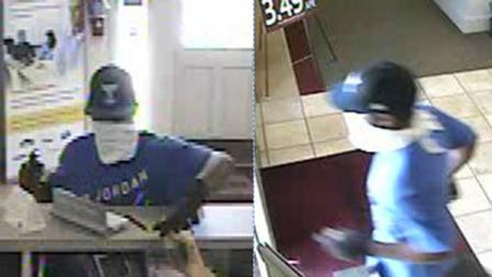 <p>Surveillance pictures obtained from BB&amp;T bank (Courtesy: Sampson County Sheriffs Office) </p>