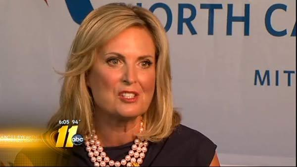 Ann Romney makes campaign stop in Greensboro