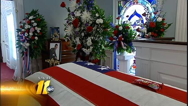Soldier killed in Afghanistan laid to rest