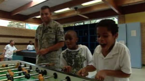Airmen make a difference for kids