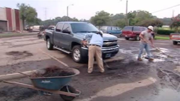 Clean up continues after rain floods Roanoke Rapids