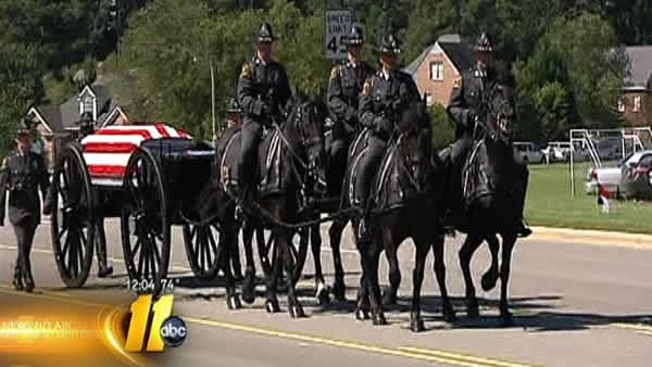 Slain trooper laid to rest