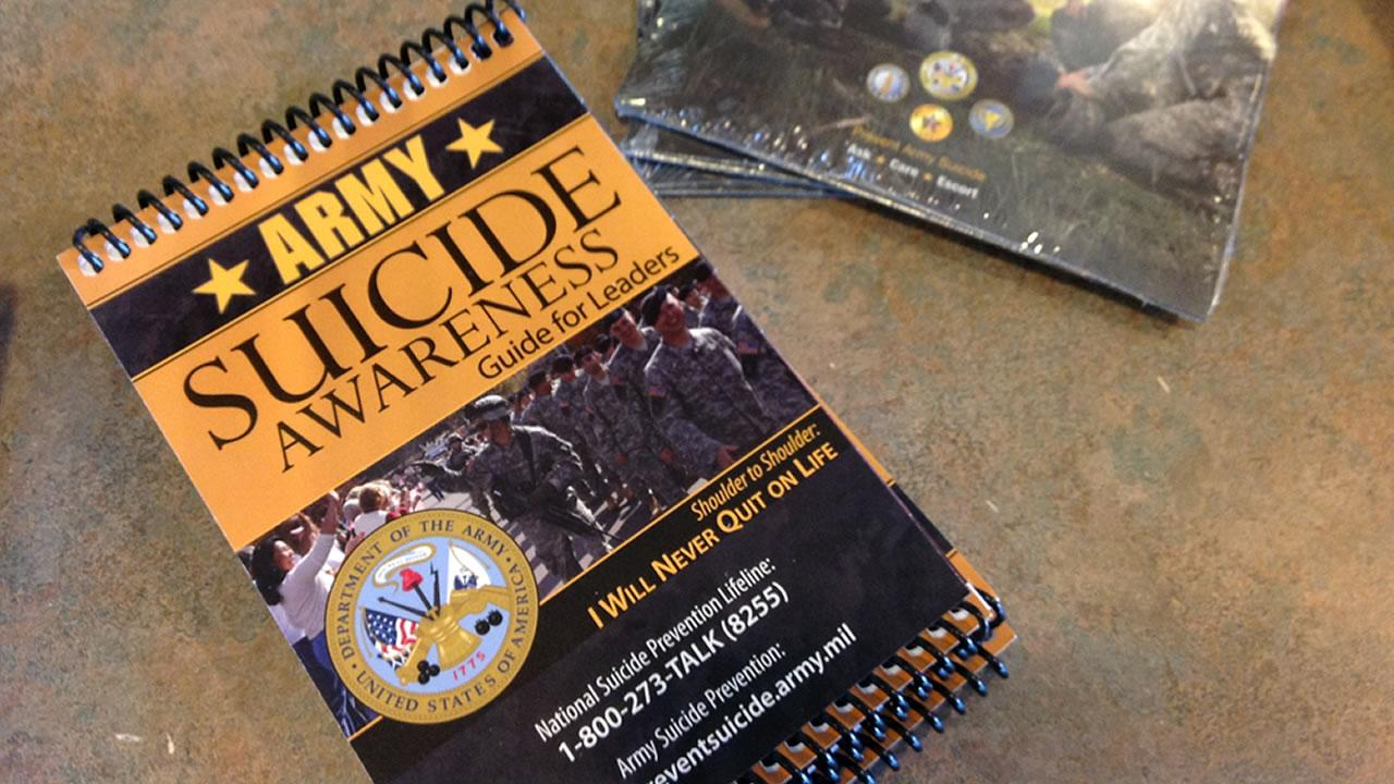 Fort Bragg suicide prevention