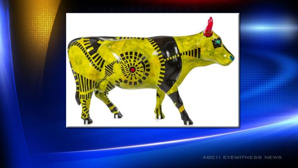 Stolen cow sculpture returned