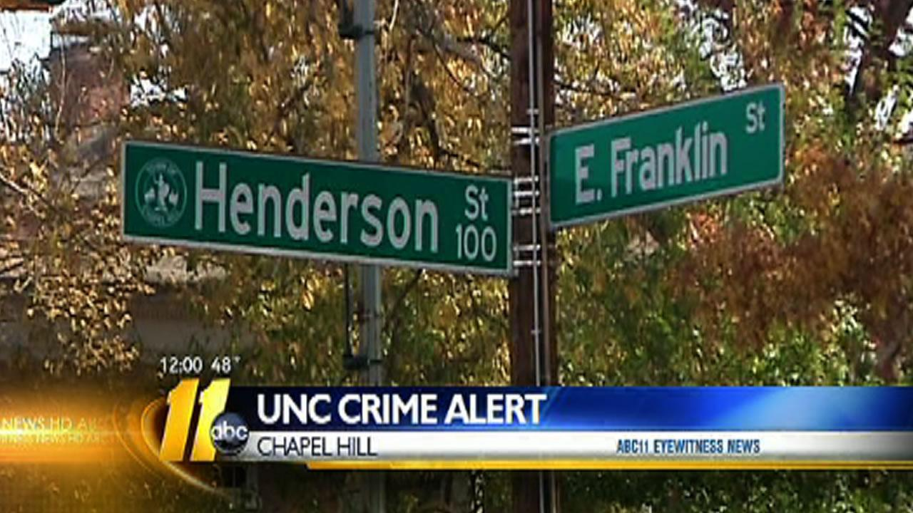 UNC alerts campus about assault, shooting