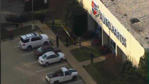 Shooting at auto parts store under investigation
