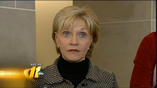 Perdue on how economy affected her term