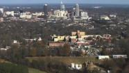 Dorothea Dix from the air.