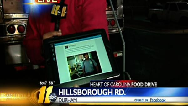 Heart of Carolina Food Drive 6:45 a.m.