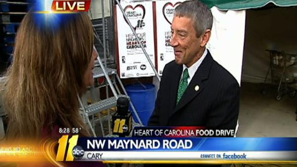 Heart of Carolina Food Drive 8:30 a.m.