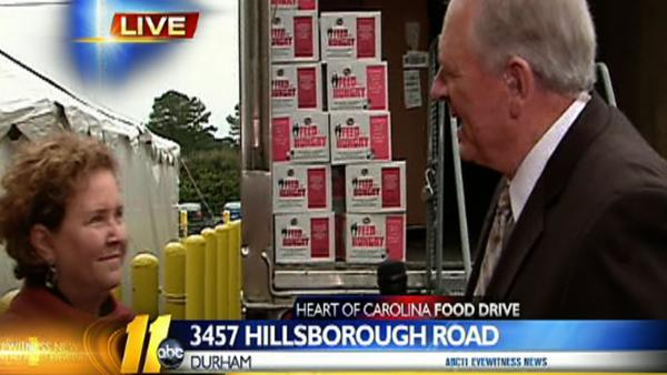 Heart of Carolina Food Drive 3 p.m.