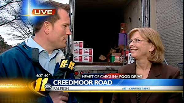 Heart of Carolina Food Drive 4:30 p.m.