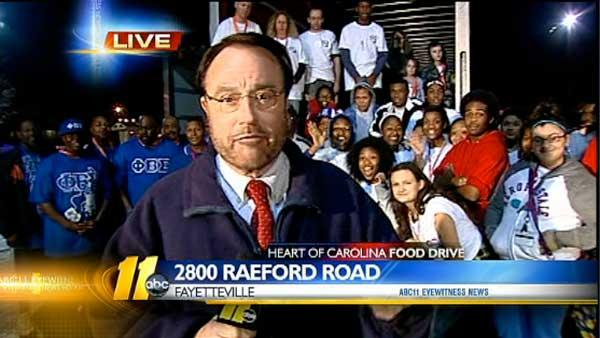 Heart of Carolina Food Drive 7:30 p.m.