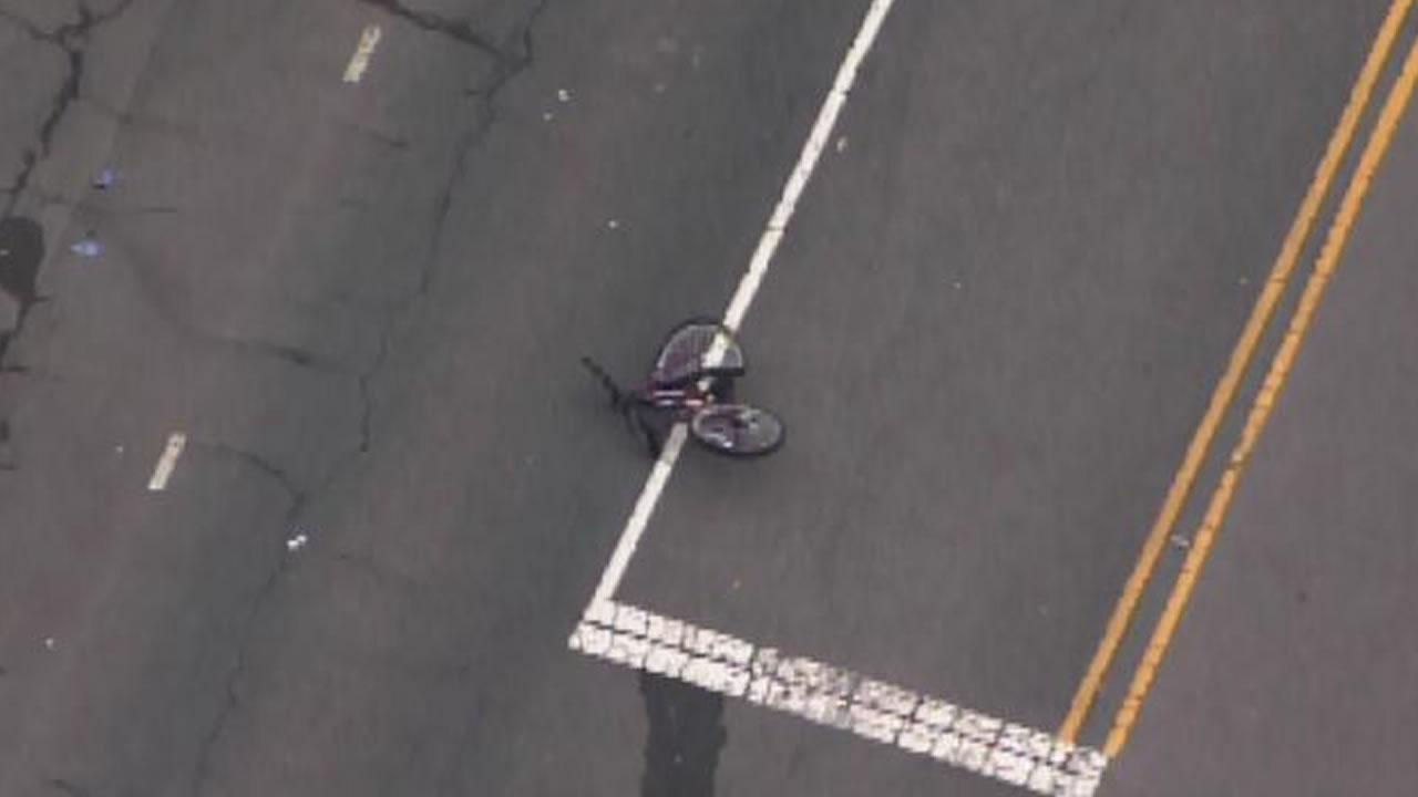 Bicyclist injured in traffic accident identified