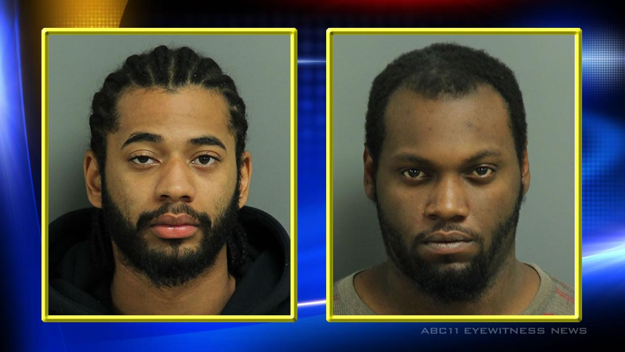 Terrel Bankhead (L), Christopher Rogers (R) (Courtesy: Wake County Sheriffs Dept.)