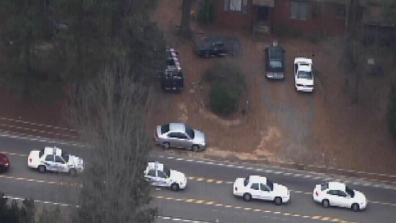 Police investigate on Benson Rd. in Garner