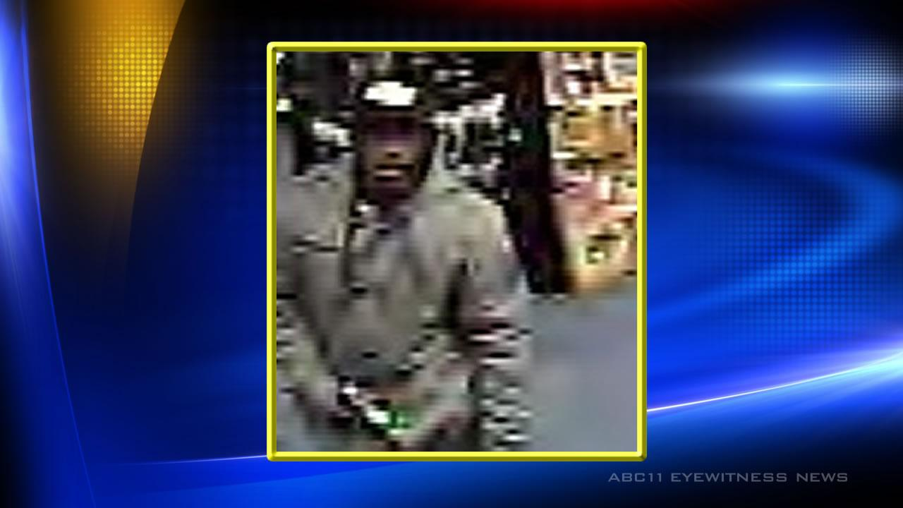 Smithfield police say this man is a suspect in a Game Stop store robbery December 21.