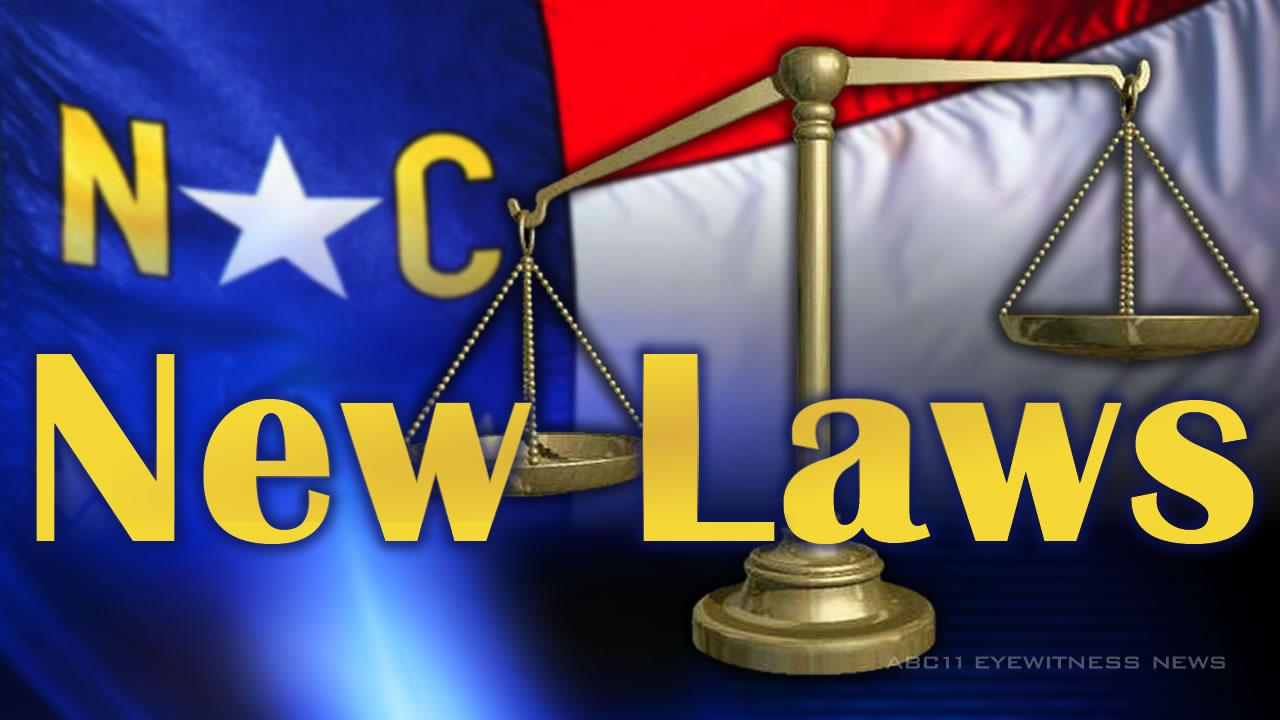 New North Carolina laws