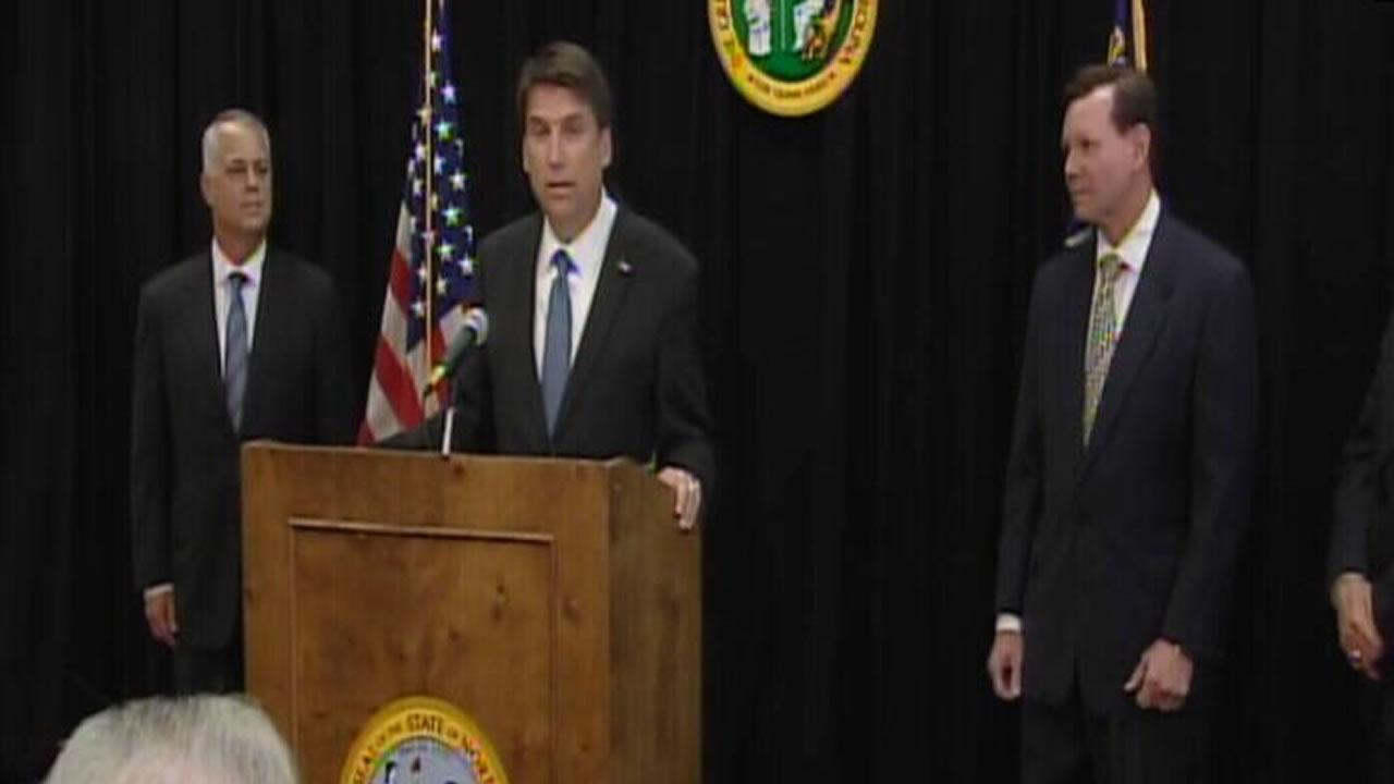 Governor-Elect Pat McCrory names Tony Tata to head the NCDOT.